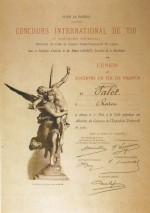 1900 Paris Olympic Diploma