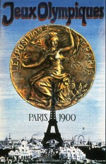 1900 Paris Olympic Poster