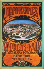 1904 St. Louis Olympic Poster