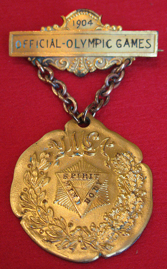 1904 St. Louis Olympic Badge