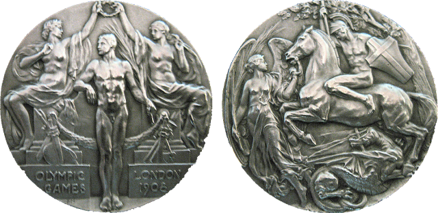 1908 London Prize Medals, 1908 London Winner's Medlas