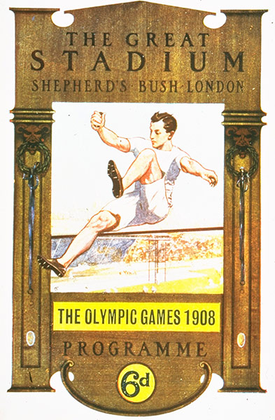 1908 London Olympic Poster
