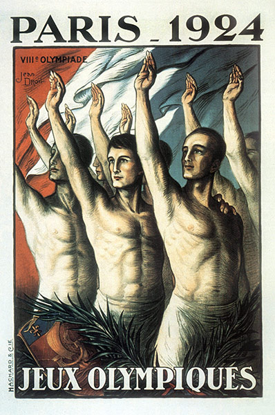 1924 Paris Olympic Poster