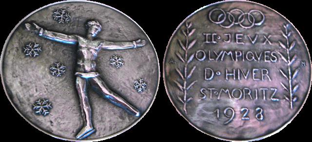1928 St. Moritz Winter Winner's Medal, 1928 St. Moritz Winter Prize Medals