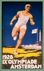 1928 Amsterdam Olympic Poster