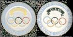 1928 St Moritz Olympic Badge
