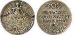 1932 Lake Placid Winter Winner's Medal, 1932 Lake Placid Winter Prize Medals