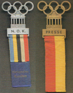 1936 Berlin Olympic Badge