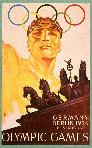 1936 Berlin Olympic Poster