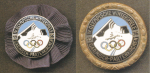 1936 Garmisch Olympic Badge