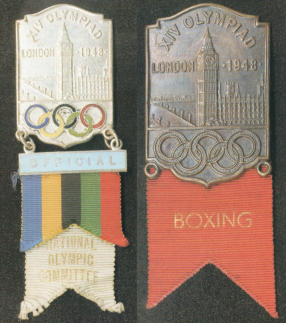 1948 London Olympic Badge