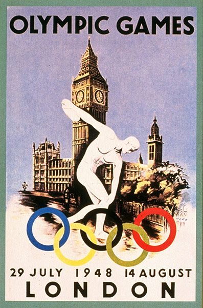 1948 London Olympic Poster
