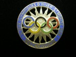 1948 St Moritz Olympic Badge