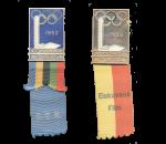 1952 Helsinki Olympic Badge