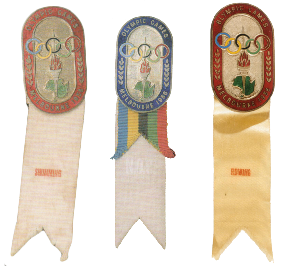 1956 Melbourne Olympic Badge