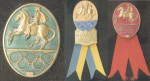 1956 Stockholm Olympic Badge