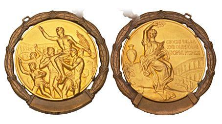 1960 Rome Summer Winner's Medal, 1960 Rome Summer Prize Medals