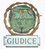 1960 Rome Olympic Badge