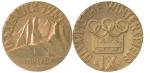 1964 Innsbruck Winter Winner's Medal, 1964 Innsbruck Winter Prize Medals