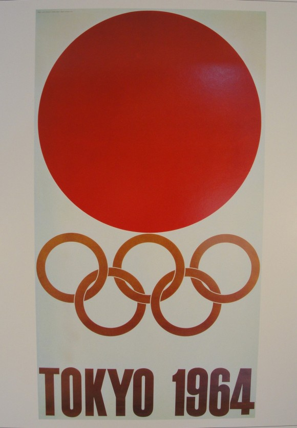 1964 Tokyo Olympic Poster