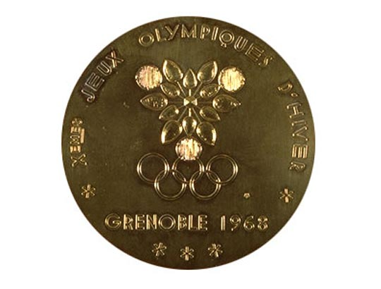 1968 Grenoble Winter Winner's Medal, 1968 Grenoble Winter Prize Medals