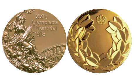 1976 Montreal Summer Winner's Medal, 1976 Montreal Summer Prize Medals
