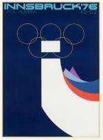 1976 Innsbruck Olympic Poster