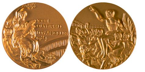 1984 Los Angeles Summer Winner's Medal, 1984 Los Angeles Summer Prize Medals