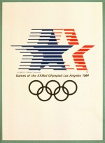 1984 Los Angeles Olympic Poster