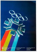 1984 Sarajevo Olympic Poster