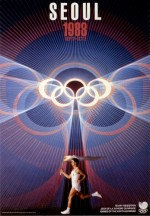 1988 Seoul Olympic Poster