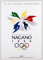 1998 Nagano Olympic Poster