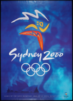 2000 Sydney Olympic Poster