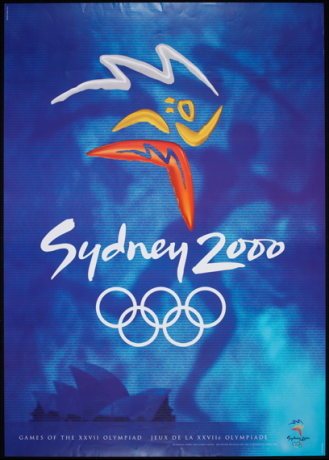 2000 Sydney Olympic Poster
