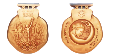 2002 Salt Lake City Winter Winner's Medal, 2002 Salt Lake City Winter Prize Medals