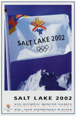 2002 Salt Lake City Olympic Poster