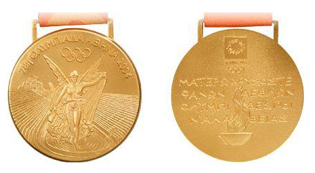 2004 Athens Summer Winner's Medal, 2004 Athens Summer Prize Medals