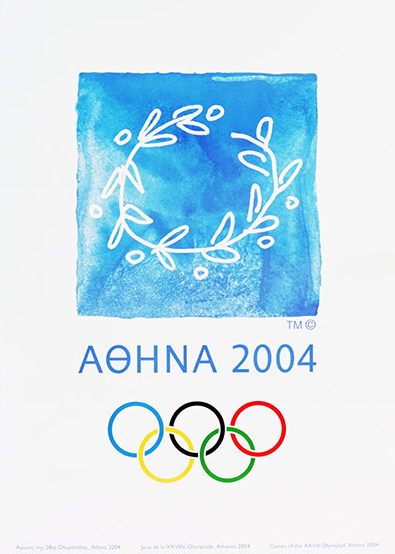 2004 Athens Olympic Poster