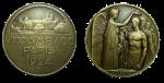 Paris Summer Olympics Participation Medal