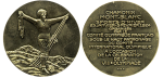 1924 Winter Olympics Chamonix Participation Medal