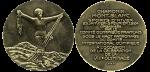 1924 Winter Olympics Chamonix Participation Medal