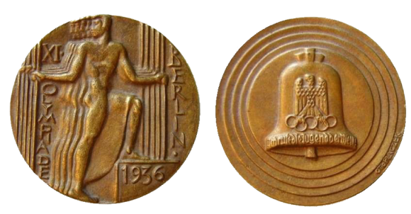 Berlin Summer Olympics Participation Medal