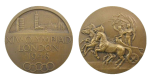 London Summer Olympics Participation Medal