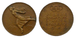 St. Moritz Winter Olympics Participation Medal