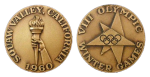 Squaw Valley Winter Olympics Participation Medal
