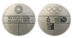 Munich Summer Olympics Participation Medal