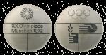 Munich Summer Olympics Participation Medal