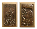 Salt Lake City Winter Olympics Participation Medal