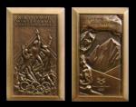 Salt Lake City Winter Olympics Participation Medal