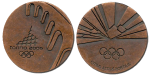 Torino Winter Olympics Participation Medal